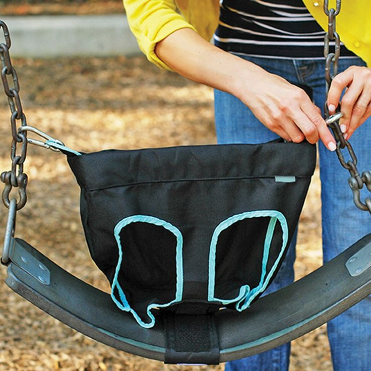 Honeybee Swing Ease Features On the playground swinging is one of the best activities that you can partake in… now with SwingEase you are always prepared to have the time of your life! The SwingEase i
