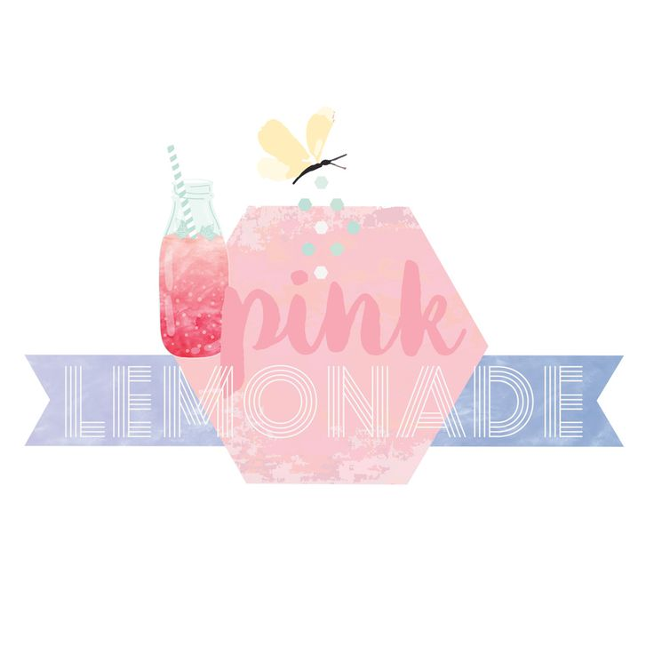 Rosie's Pink Lemonade - Sun-kissed patterns in sugary hues and watermarked textures. Rosie's Pink lemonade is candy floss, summer dresses, donuts and gala days; flavored ices and prettily fluttering butterflies.