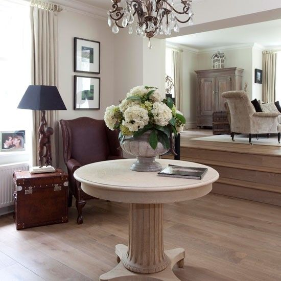 Open-plan Oak Living Room