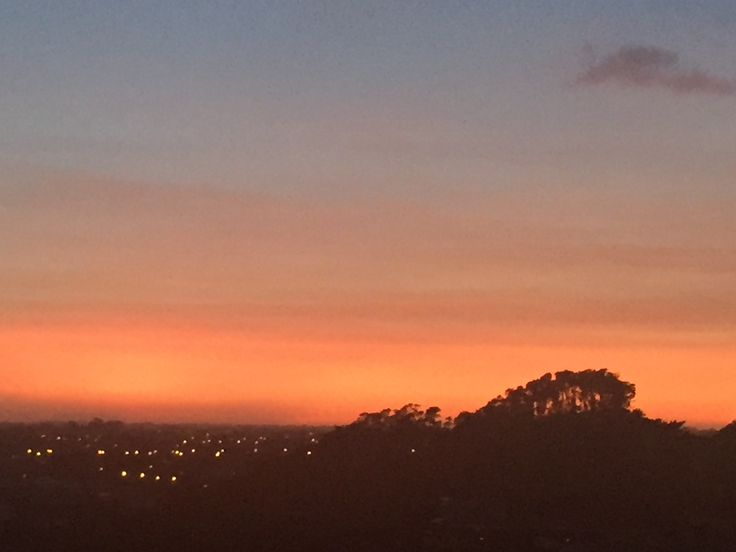 ✨This was the sun rise this morning. How stunning is that! What better way to start your dayLook around and appreciate your surroundings everyday. Find something that makes you think ooh la la and smile ... And let that thought carry you through your day.✨
