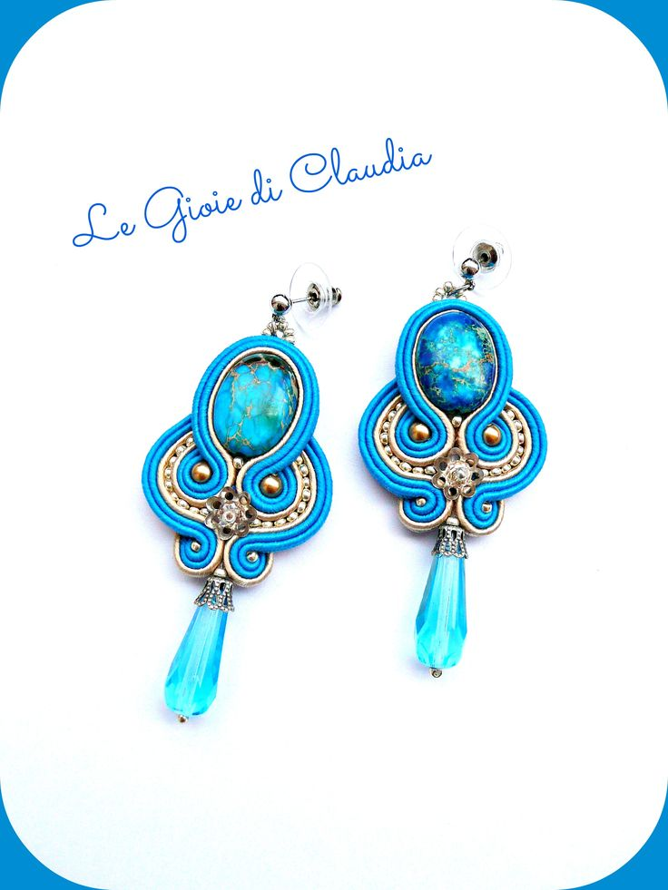 Le Gioie di Claudia earrings soutache