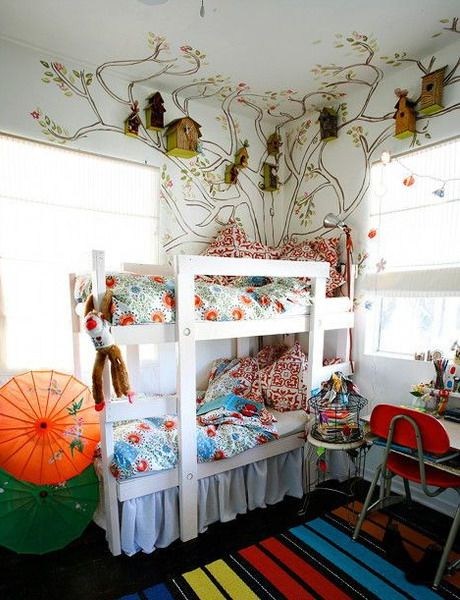 25 Ideas To Decorate Kids Room With Birds | Shelterness