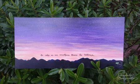 Láminas pintadas – Artesanía – Pinceladas Conscientes