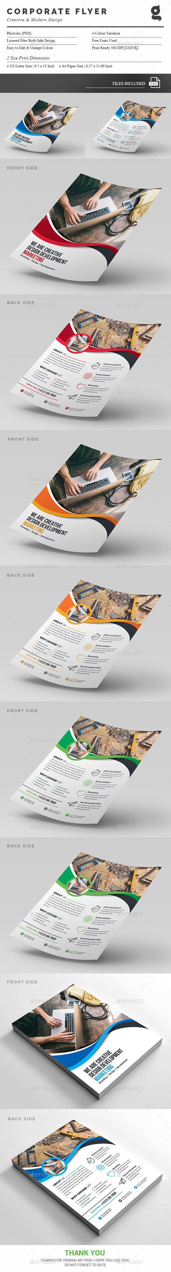 Creative Flyer Template PSD