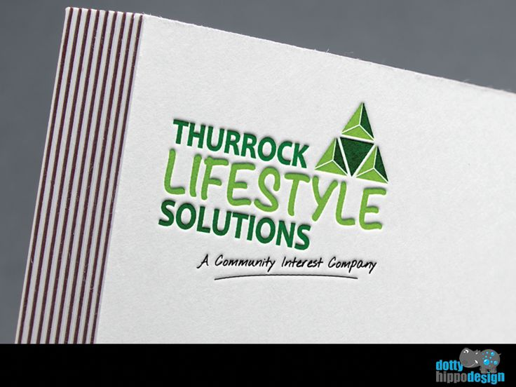 Logo design for Thurrock Lifestyle Solutions