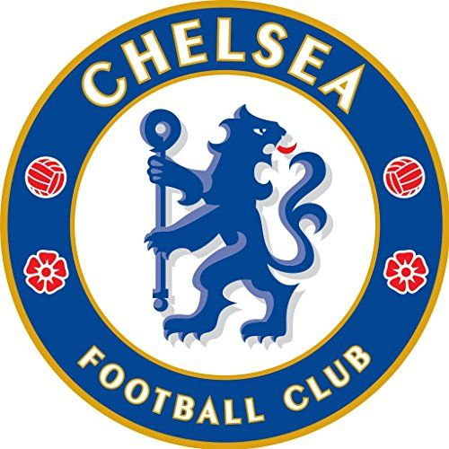 "(2) X Chelsea Fc Wall Sticker Logo 5""x5"""