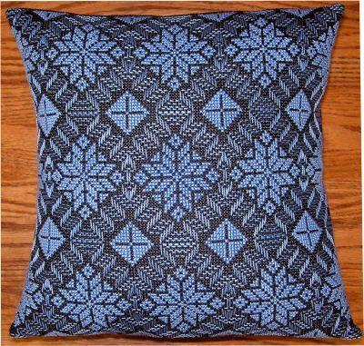 Swedish Weaving (Huck Weaving).