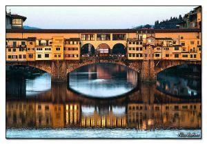 Il Ponte Vecchio, Florencia, Italia.