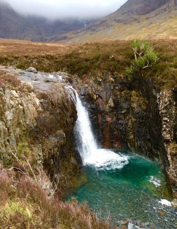 Fairy Pools, Skotsko, ostrov Skye, přírodní koupaliště