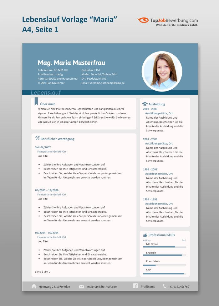 7 best Bewerbung images on Pinterest | Resume, Curriculum and Resume cv
