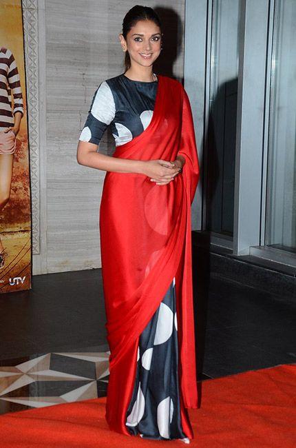 A Satya Paul saree.