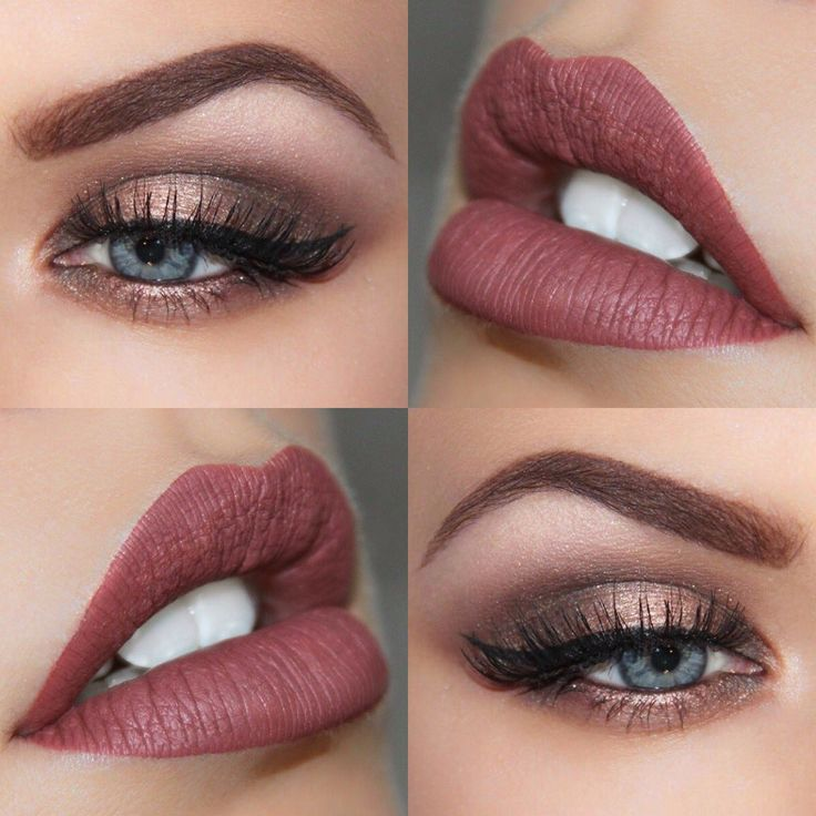 """Autumn awesomeness using @ABHcosmetics Allison liquid lipstick and Modern Renaissance palette @norvina1 #AnastasiaBeverlyHills"""
