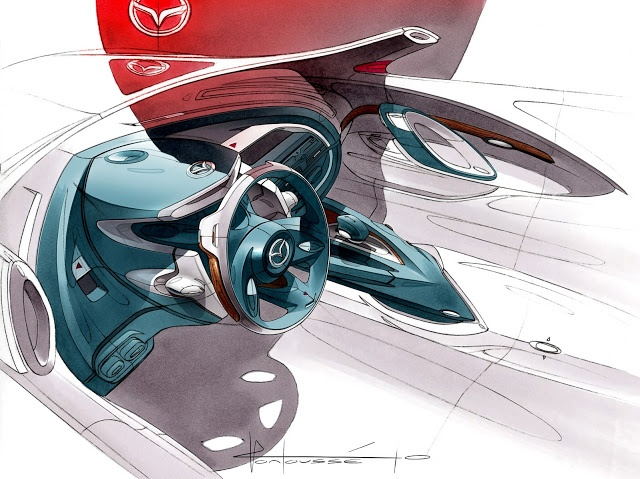Mazda Shinari Concept 2010 by Julienne Montousse