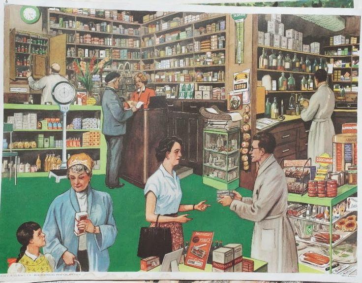 "Affiche ""La pharmacie"" (élocution Mdi)"