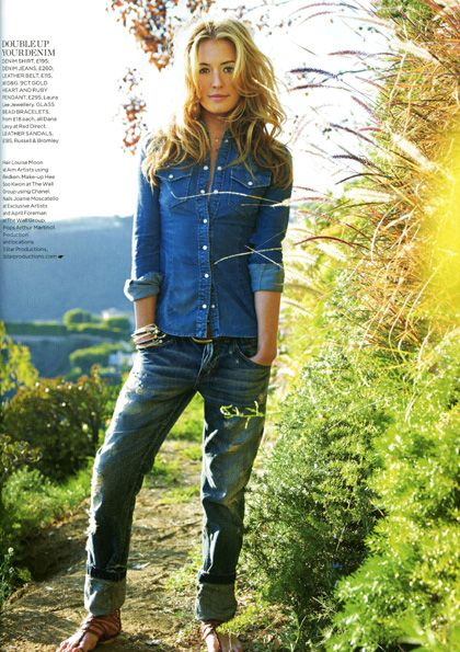 Cat Deeley Wears Dana Levy Bracelets for Red Magazine