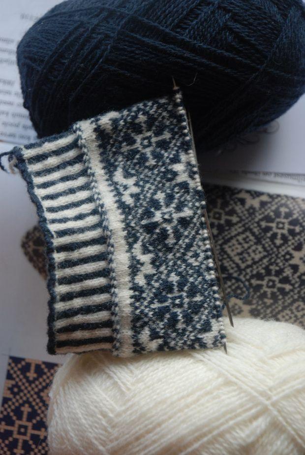 291 best Fair Isle images on Pinterest   Fair isle knitting, Fair ...