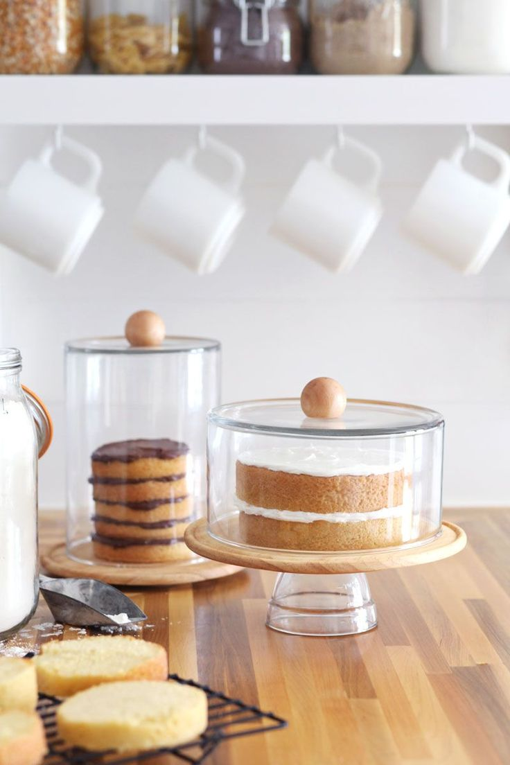 DIY Cake Dome & Cloche Jars - my answer to never finding the perfect cake display!