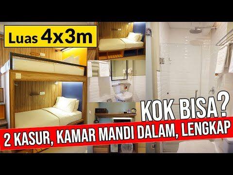 cara membuat kamar kost ukuran 4 x 3 #ngulikkost #