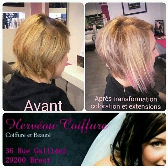 17 Best images about Hervéou Coiffure on Pinterest | Beach waves, Ties and Hair chalk