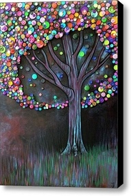 Crafts / button tree