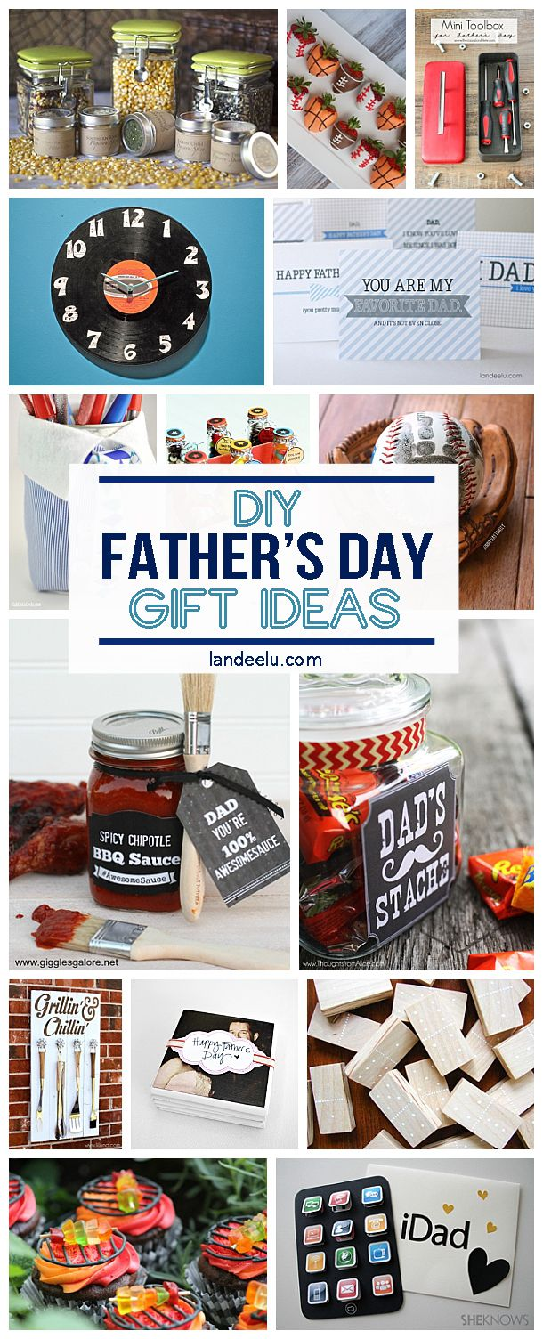 20+ Father's Day DIY Gift Ideas & Tutorials - Give your dad a gift from the heart this Father's Day... something you made yourself! He will love it!