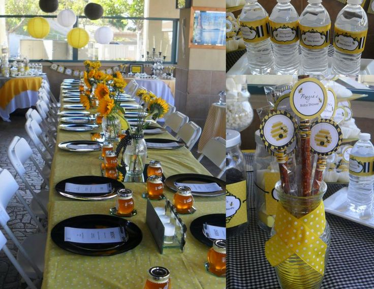 Bee Decor | MKR Creations: Bumble Bee Baby Shower