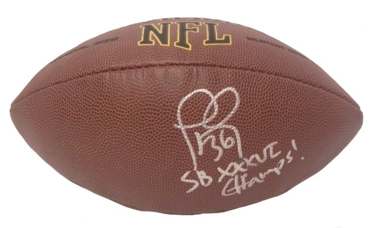"Lawyer Milloy Autographed NFL Wilson Composite Football w/ Inscription, Proof Photo. Lawyer Milloy Signed NFL Football w/ ""SB XXXVI Champs!"" Inscription, New England Patriots, Washington Huskies, Proof  This is a brand-new Lawyer Milloy autographed NFL Wilson composite football featuring ""SB XXXVI Champs!"" inscription!  Lawyer signed the football in silver paint pen. Check out the photo of Lawyer signing for us. ** Proof photo is included for free with purchase. Please click on images to…"