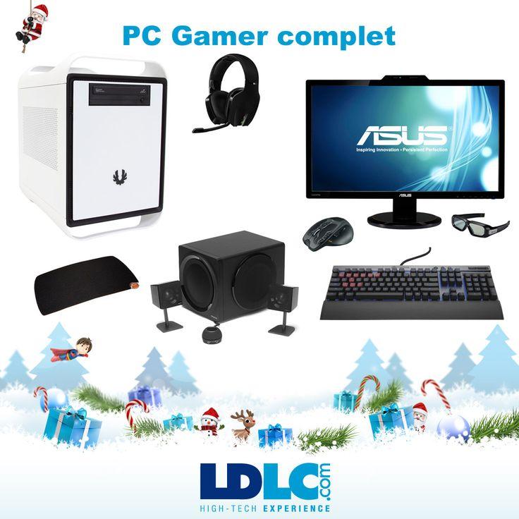 Grand jeu de Noël LDLC ! Vous avez voté pour : PC Gamer fixe + équipement (2445€), détail complet :  http://www.ldlc.com/b-90054234b579b759.html    Vous aimeriez gagner ce produit ? RDV le 27/11 pour vous inscrire à notre grand jeu de Noël !