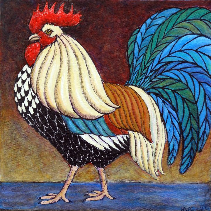 1000+ images about Folk art Roosters on Pinterest | Folk art ...