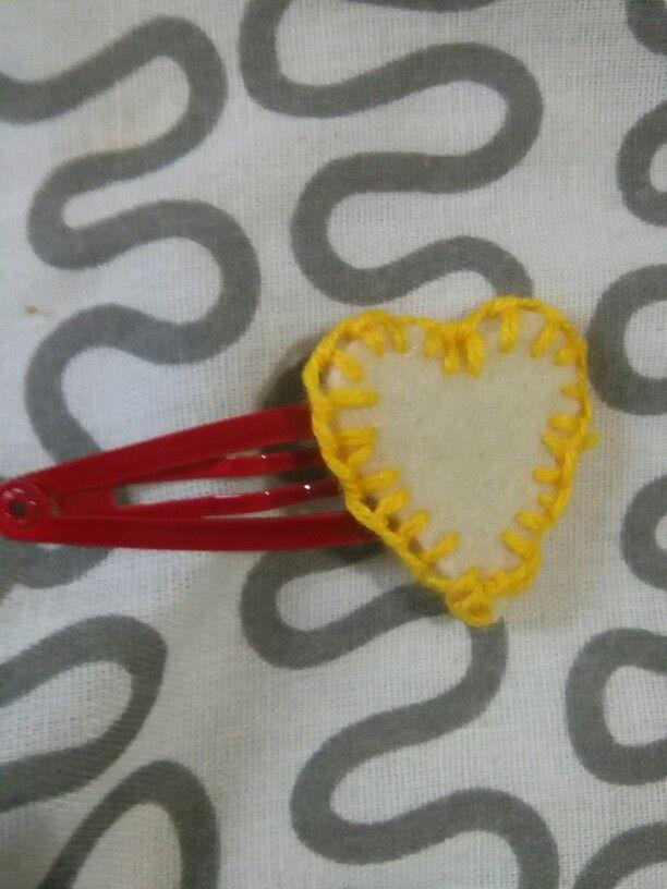 Cuore love red handmade