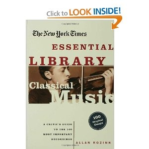 The New York Times Essential Library: Classical Music: A Critic's Guide to the 100 Most Important Recordings --- http://bizz.mx/bq3