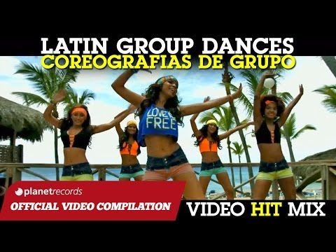 LATIN GROUP DANCE HITS ► BAILES DE GRUPO ► I MIGLIORI BALLI DI GRUPPO SALSA BACHATA ZUMBA REGGAETON - YouTube