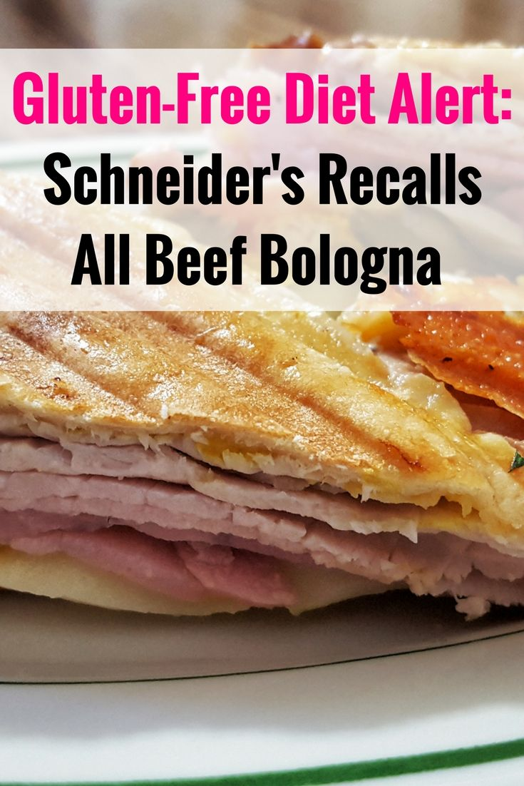 Celiac disease alert: Schneider's recalls All Beef Bologna for undeclared wheat and milk - gluten-free diet warning