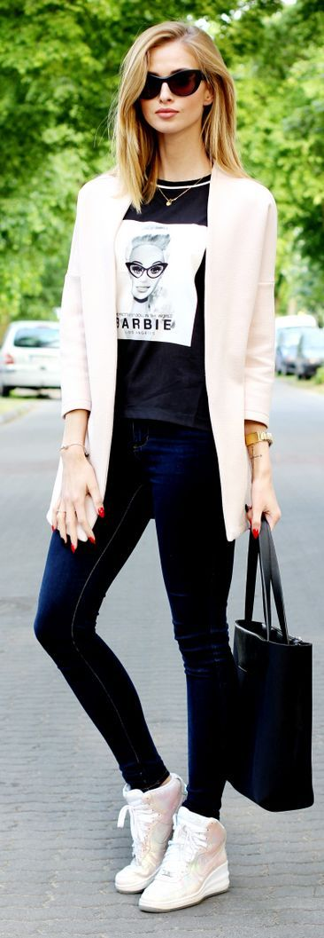 Cream On Black And White Styling by Beauty - Fashion - Shopping
