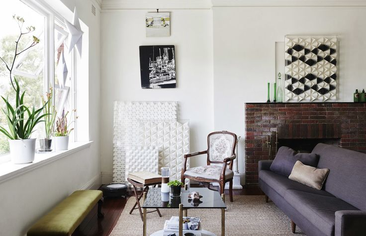 The Sydney apartment of paper engineer Benja Harney and his partner, interior architect Andrew Waller. Photo – Eve Wilson, Production – Lucy Feagins.