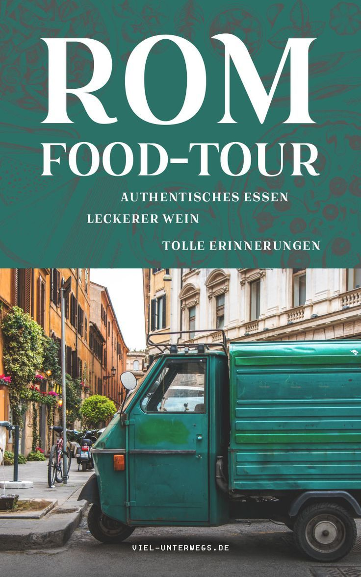 Geheimtipp: Essen in Rom: Eine Food-Tour in Testaccio