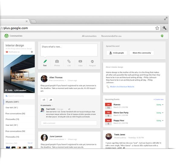 Get the most out of Google+ - Google+ i love google design.