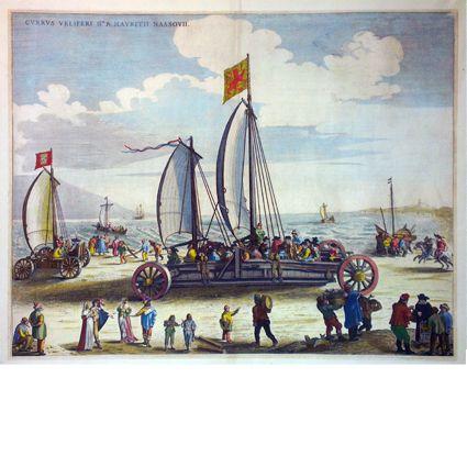 Antieke kaarten en historische prenten. Antique maps and historical engravings.