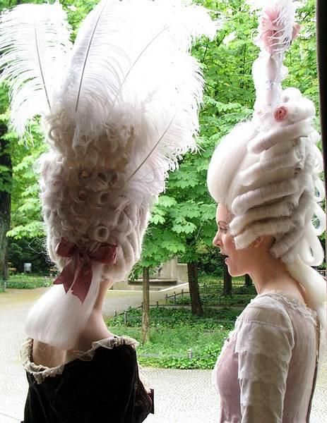 Baroque & Rococo Hair Styles Theater Akademie By Anika Rohrbeck und Claudia Mitdank