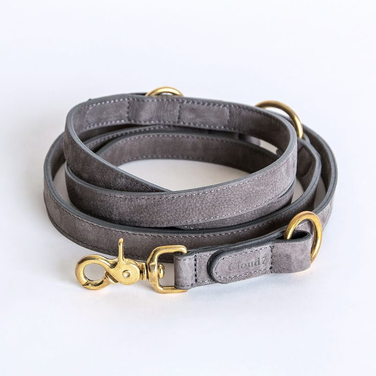 Dog Leash Tiergarten Nubuck Taupe                                                                                                                                                                                 More