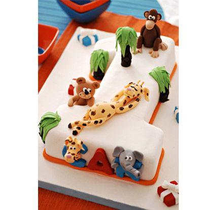 Beyaz Fırın - kutlama pastaları - doğum günü pastaları - çocuk - 1-d 1 rakamı