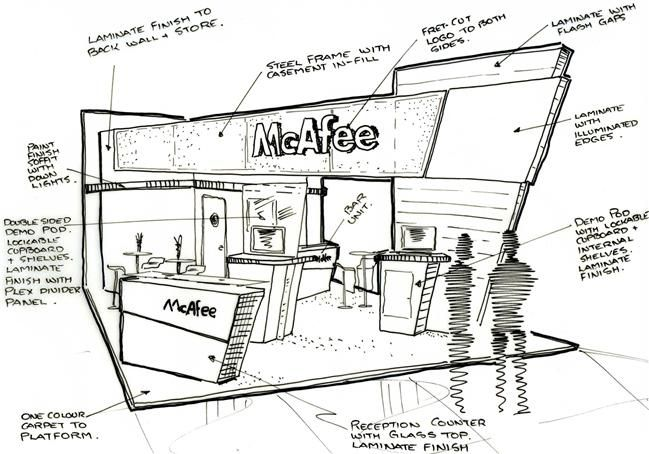 exhibition sketch - Google Search
