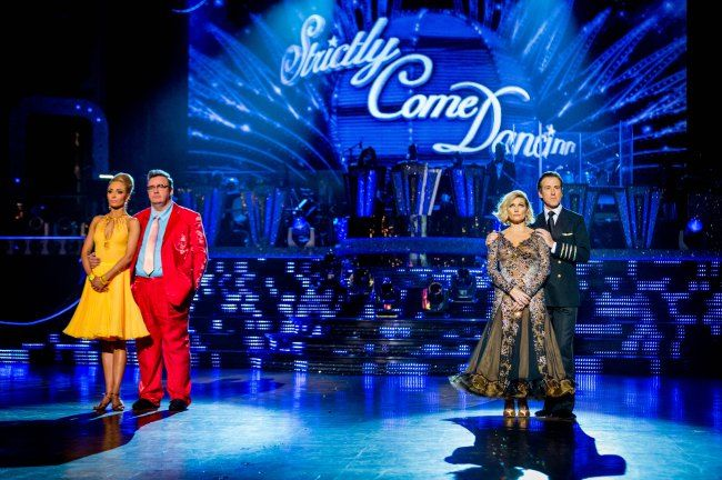 Mark Benton & Fiona Fullerton were in the bottom two on last night's Strictly Come Dancing results show