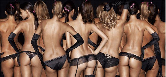 Foto Galeri: İşte makyajsız halleriyle Victoria's Secret modelleri!