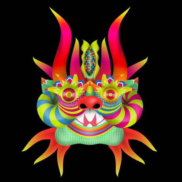 Diablada - ilustración on Behance