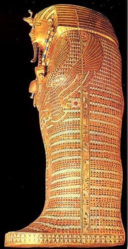 An outer (second) coffin  (Tut)