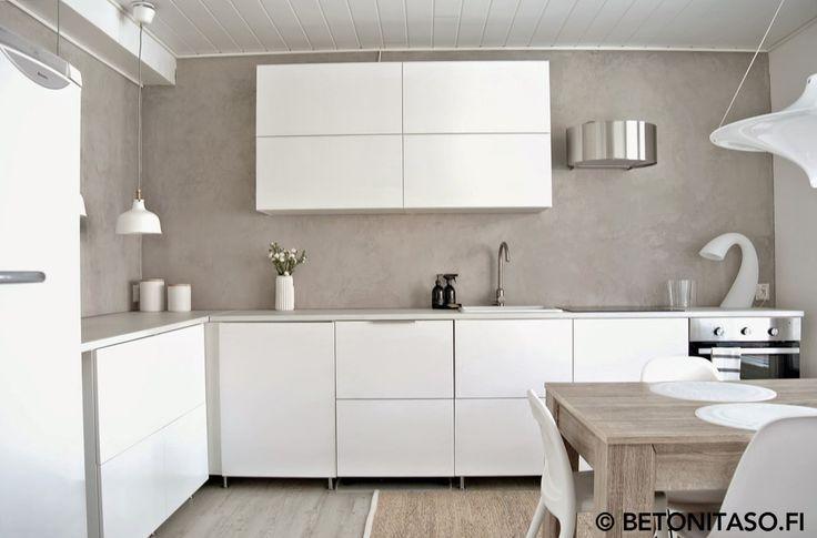 mikrosementti | keittiö | välitila