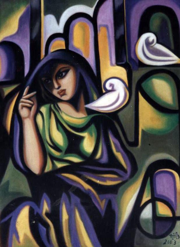 Untitled - Hafidh al-Droubi