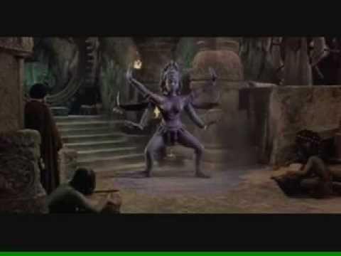 Kali Dances For Koura (The Golden Voyage of Sinbad) - Ray Harryhausen, master of stop-motion animation