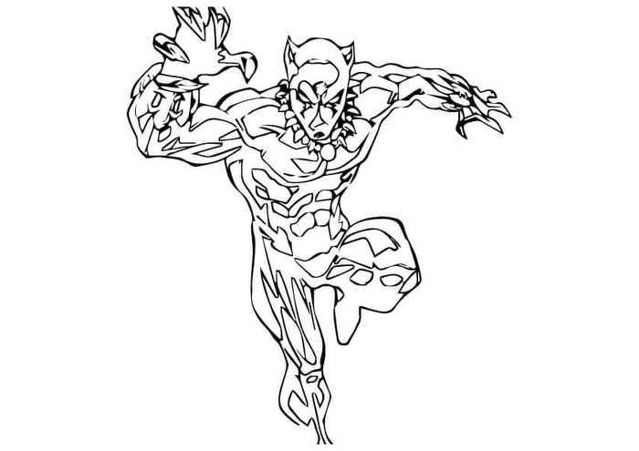 6 Free Black Panther Coloring Pages Superhero Coloring Pages Superhero Coloring Coloring Pages